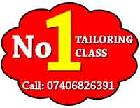 no 1 tailoring classes